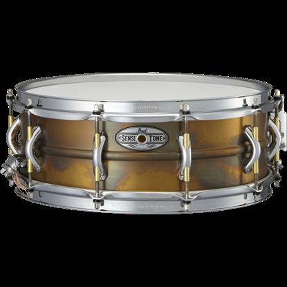 "Bild på Pearl 14"" x5"" Sensitone Premium Beaded Brass Virveltrumma"