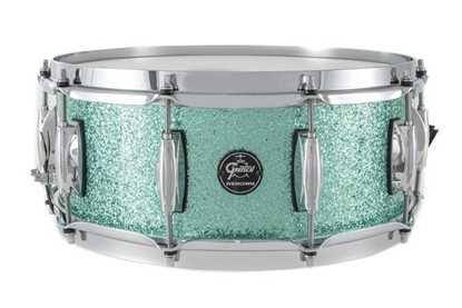 """Bild på Gretsch Snare Drum Renown Maple Turquoise Premium Sparkle (14""""x 5,5"""")"""
