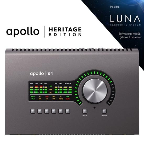 Bild på Universal Audio Apollo x4  TB3 Heritage Edition