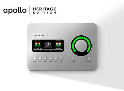 Bild på Universal Audio Apollo Solo Heritage Edition USB-C