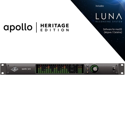 Bild på Universal Audio Apollo x16 TB3 Heritage Edition