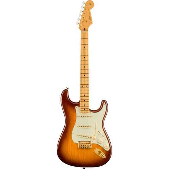 Bild på Fender 75th Anniversary Commemorative Stratocaster MN 2 Tone Bourbon Burst