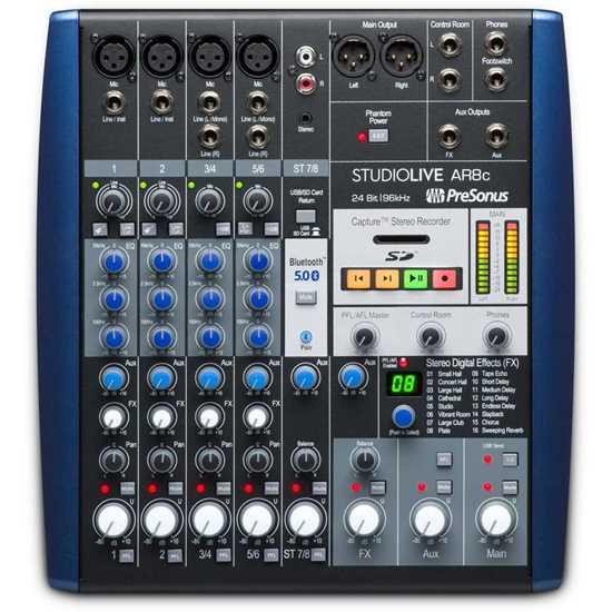 Bild på Presonus StudioLive AR8c Mixerbord
