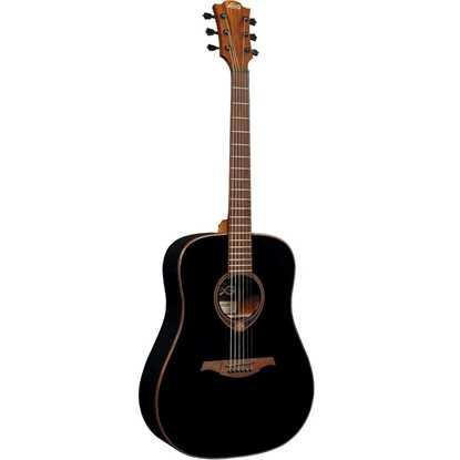 Bild på LÂG T118D-BLK Tramontane Stålsträngad Akustisk Gitarr