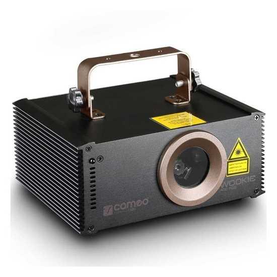 Bild på Cameo Wookie 400 RGB Animation Laser