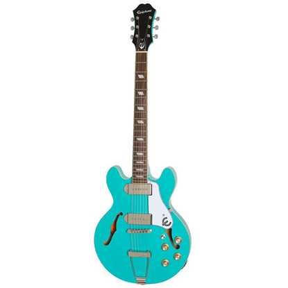 Bild på Epiphone Casino Coupe Turquoise Elgitarr