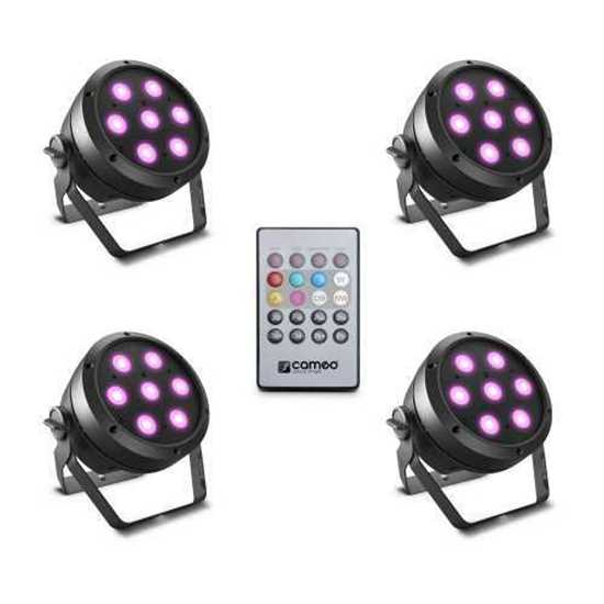 Bild på Cameo ROOT PAR 4 SET 1 LED PAR