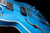 Bild på Hagström Viking Deluxe Custom Miami Blue Metallic Elgitarr