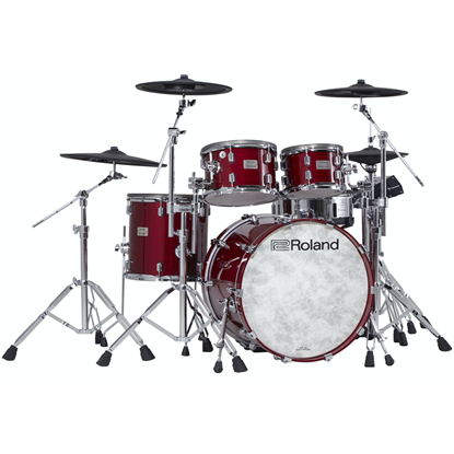Bild på Roland VAD706-GC V-Drums Acoustic Design Kit Gloss Cherry