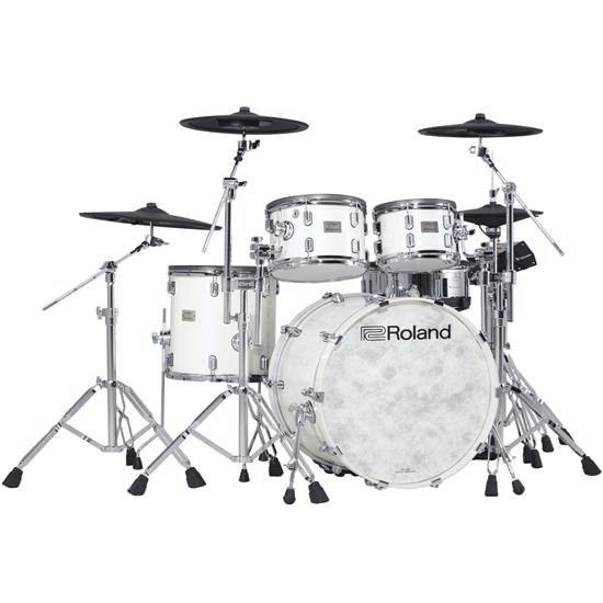 Bild på Roland VAD706-PW V-Drums Acoustic Design Kit Pearl White