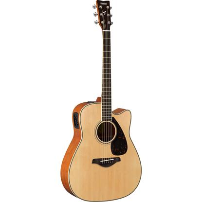 Bild på Yamaha FGX820C Natural Stålsträngad Akustisk Gitarr