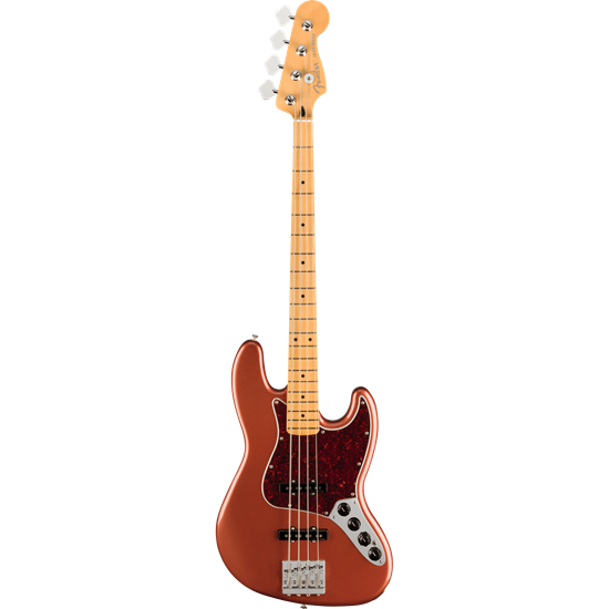 Bild på Fender Player Plus Jazz Bass MN Aged Candy Apple Red