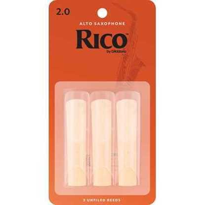 Bild på Rico Rör Alt-sax 2 - 3 pack