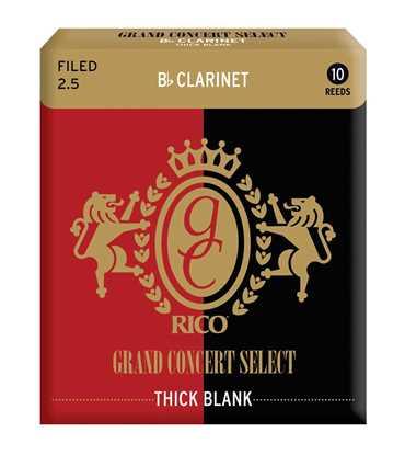 Bild på Rico GCS Bb-Klarinett Thick Blank 2.5 - 10 pack