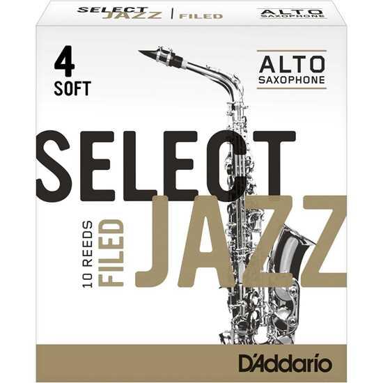 Bild på D'Addario RSJ-Filed Alt-sax 4S - 10 pack