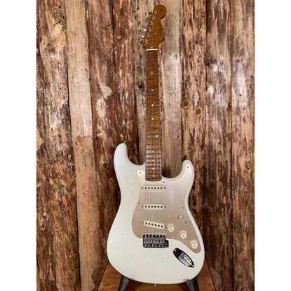 Bild på Fender Custom Shop Stratocaster  LTD '58 Special Journeyman Relic Aged Olympic White