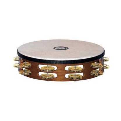 Bild på Meinl Tamburin Brass TAH2B-AB