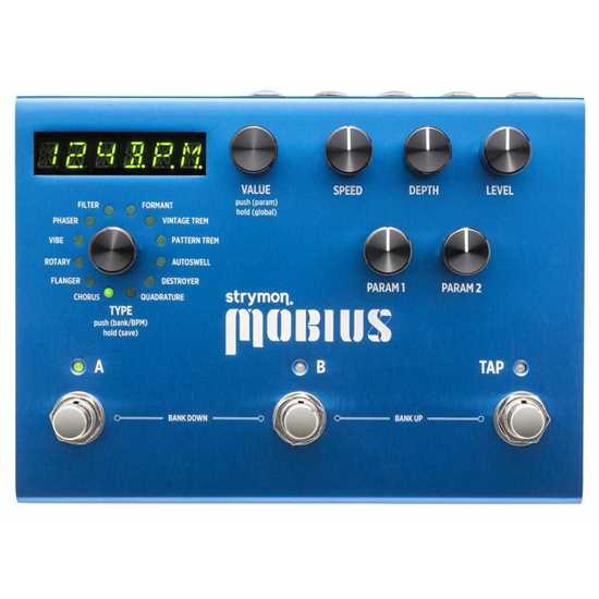 Bild på Strymon Mobius Multi-modulation